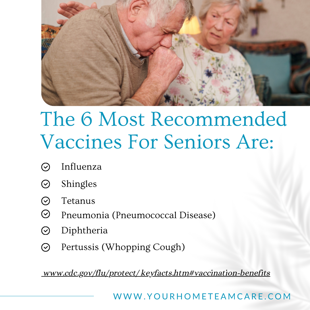 The 6 Most Recommended Vaccines for Seniors